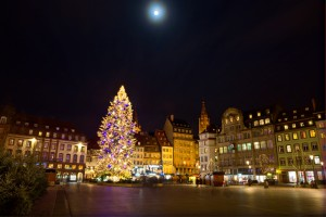 photo de paysage alsace Strasbourg pendant des voyages avec des lieux insolites et architecturaux.